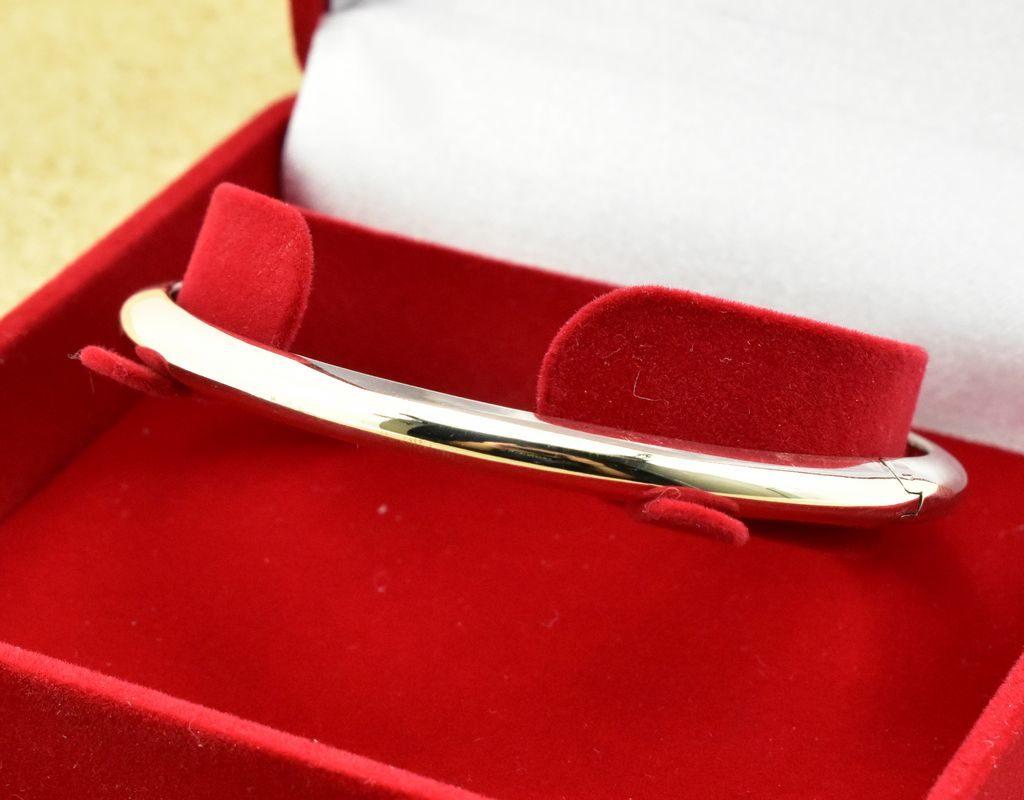 Srebrna bransoleta zamykana kółko srebro 925