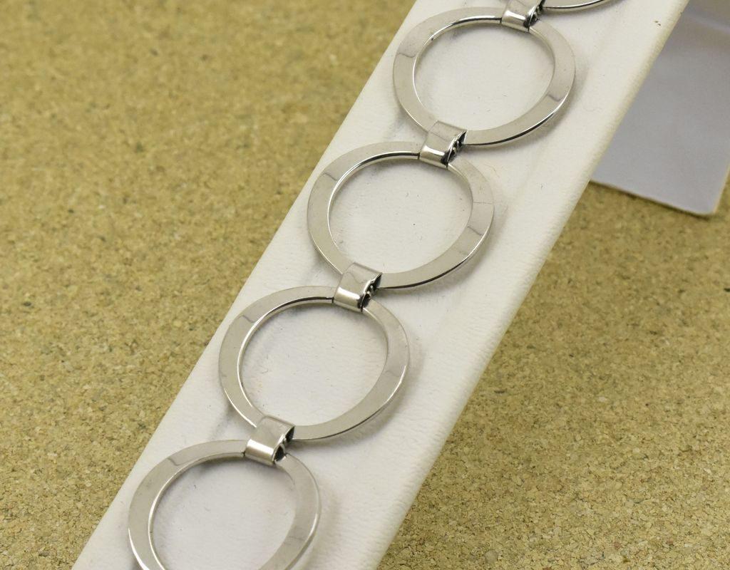 Srebrna bransoletka szeroka srebro 925