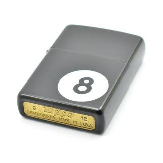 Zapalniczka benzynowa zippo 8-ball black matte