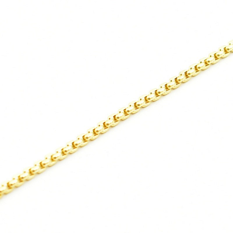 Klasyczny złoty łańcuszek ze złota próby 585.