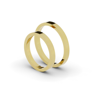 Klasyczne obrączki ślubne 2,5 mm