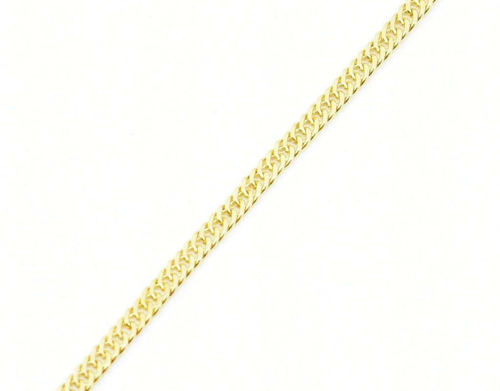 Złoty łańcuszek – pancerka 50 cm