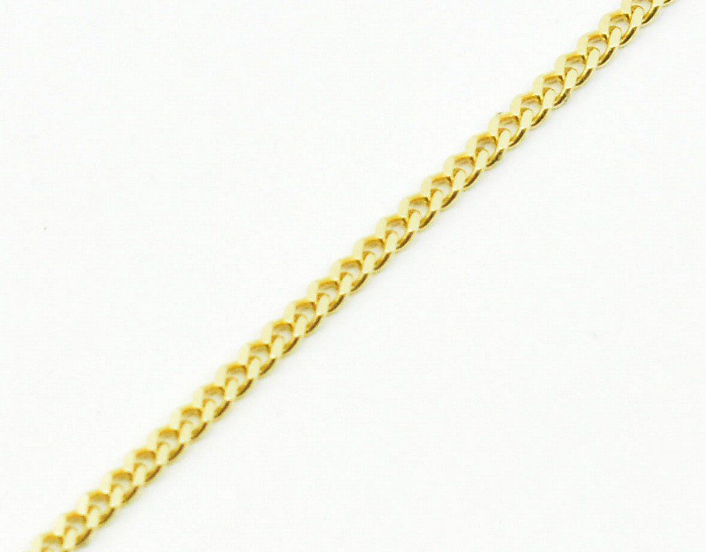 Złoty łańcuszek – pancerka 60 cm