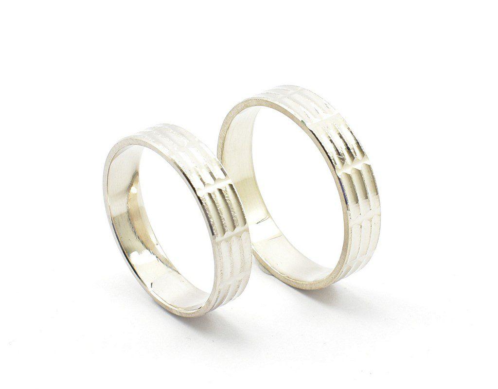 Obrączki diamentowane model M-005