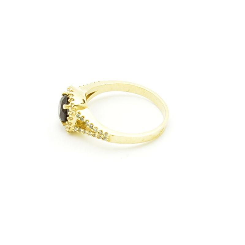 Złoty pierścionek rozmiar 14