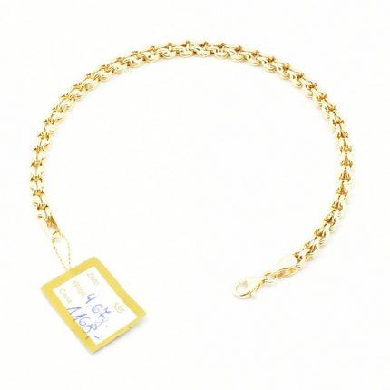 Złota bransoleta – 4,67g – 18 cm