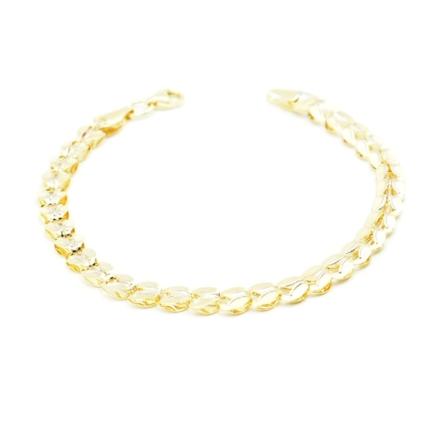 Złota bransoletka z blaszek – 3,35 g