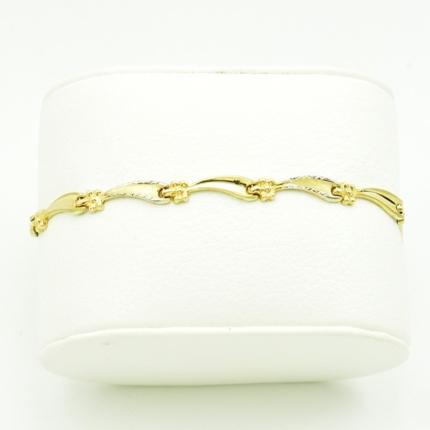Złota bransoletka dmuchana – 3,60 g