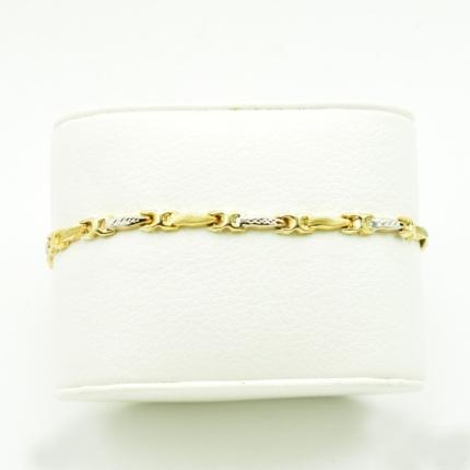 Złota bransoletka dmuchana – 3,65 g