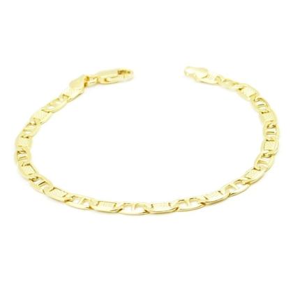 Złota bransoletka pancerka 4,25 g