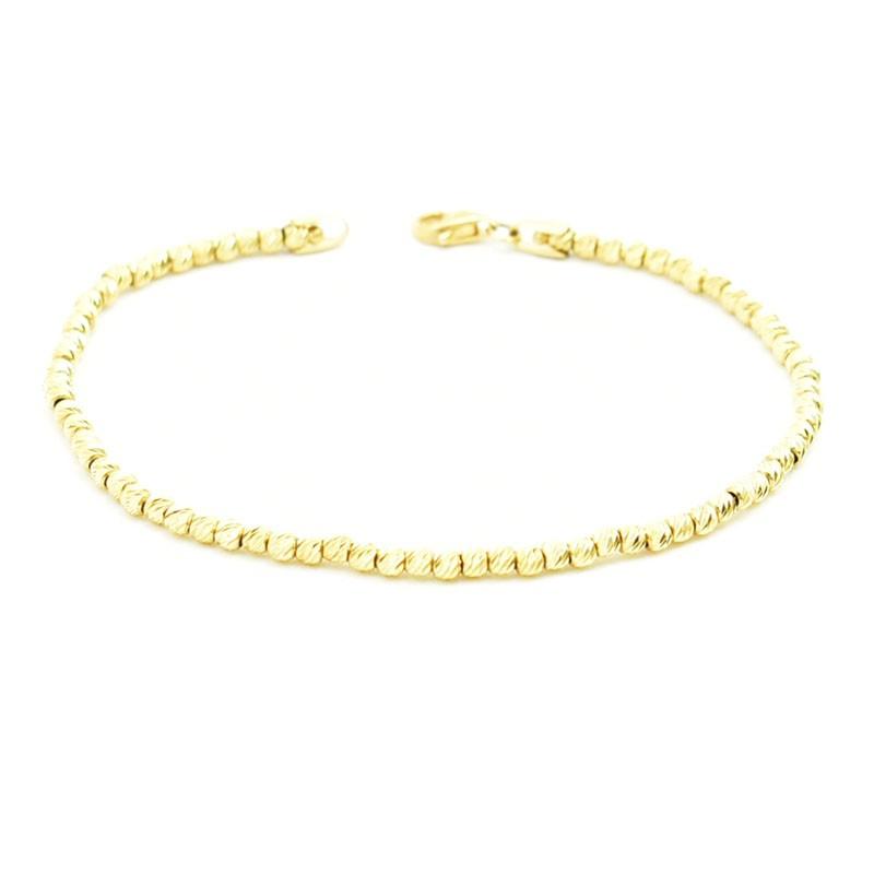 Bransoletka - złoto 585