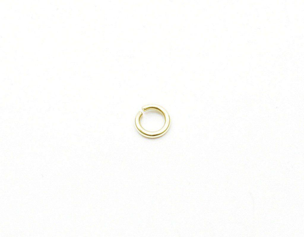 """Kółko do biżuterii – 5 mm – """"słabe ogniwo"""""""
