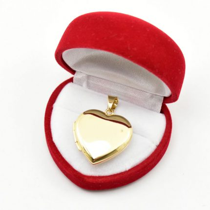 Złoty sekretnik, gładkie serduszko