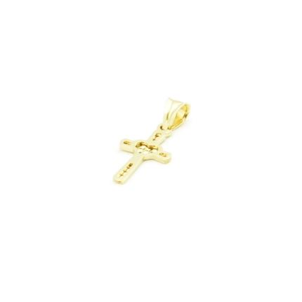 Złoty krzyżyk z pasyjką – bardzo mały – 0,4 g