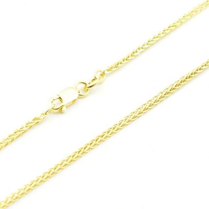 Złoty łańcuszek – Lisi Ogon 50 cm