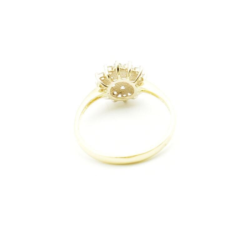 Wnętrze złotego pierścionka pb-0085